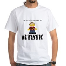 Son has superpower Autistic T-Shirt