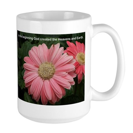 Words of Faith Large Mug