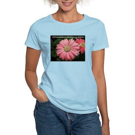 Words of Faith Women's Pink T-Shirt