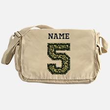 Personalized Camo 5 Messenger Bag