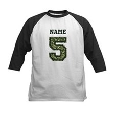 Personalized Camo 5 Baseball Jersey