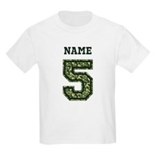 Personalized Camo 5 T-Shirt
