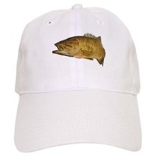 Smallmouth Bass Art Affect Baseball Baseball Cap