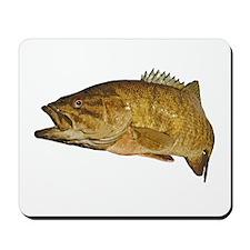 Smallmouth Bass Art Affect Mousepad