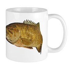 Smallmouth Bass Art Affect Mug