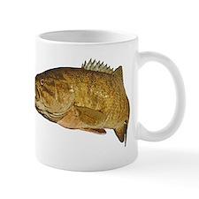 Smallmouth Bass Art Affect Small Mug