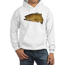 Smallmouth Bass Art Affect Hoodie