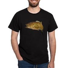 Smallmouth Bass Art Affect T-Shirt