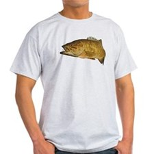 Smallmouth Bass Art Affect T-Shirt