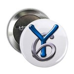 Young Six Flatline Records Button