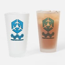 A.E.G.I.S. Gaming Logo Drinking Glass