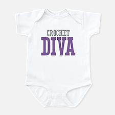 Crochet DIVA Infant Bodysuit