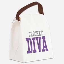 Crochet DIVA Canvas Lunch Bag