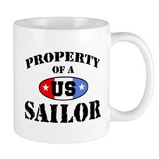 Property of a US Sailor  Mug
