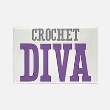 Crochet DIVA Rectangle Magnet (10 pack)