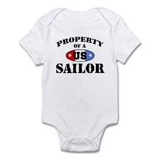 Property of a US Sailor Infant Bodysuit