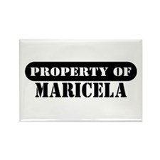 Property of Maricela Rectangle Magnet