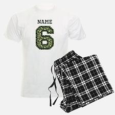 Personalized Camo 6 Pajamas