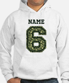 Personalized Camo 6 Hoodie
