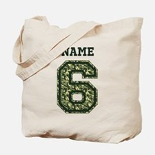 Personalized Camo 6 Tote Bag