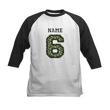 Personalized Camo 6 Baseball Jersey