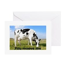 You Moove Me Greeting Card