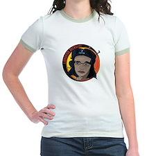 Librarian Revolution Jr. Ringer T-Shirt