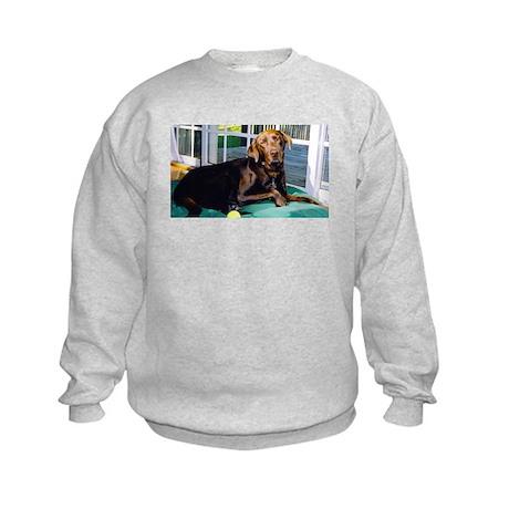 Everyone Loves Chocolate Kids Sweatshirt