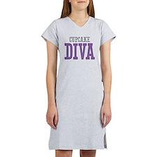 Cupcake DIVA Women's Nightshirt