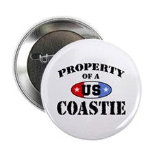 Property of a US Coastie Button