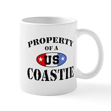 Property of a US Coastie  Small Mug