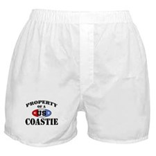 Property of a US Coastie  Boxer Shorts