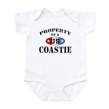 Property of a US Coastie Infant Bodysuit