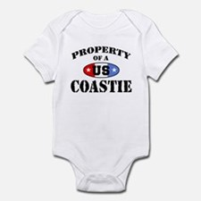 Property of a US Coastie Infant Bodysuit