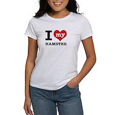 I heart Hamster designs Tee