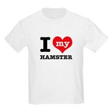 I heart Hamster designs T-Shirt