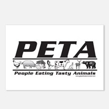 PETA - People eating Tasty An Postcards (Package o