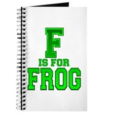 F is for Frog Journal