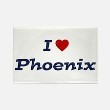 I HEART PHOENIX Rectangle Magnet