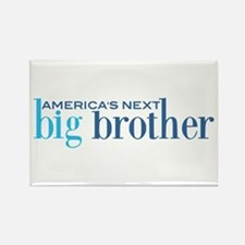 Next Big Brother Rectangle Magnet