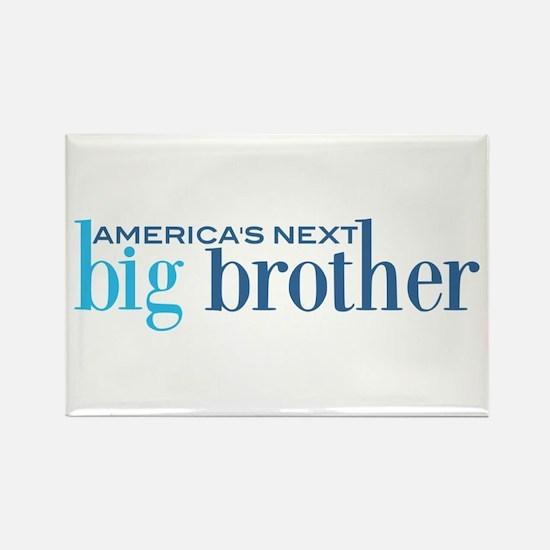 Next Big Brother Rectangle Magnet