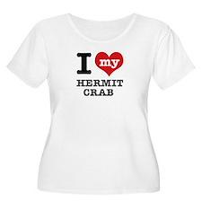 I heart Hermit Crab designs T-Shirt