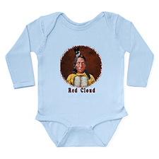 Red Cloud Long Sleeve Infant Bodysuit