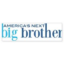 Next Big Brother Bumper Bumper Sticker