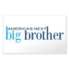 Next Big Brother Decal