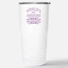 World's Most Awesome Secretary Travel Mug