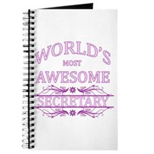 World's Most Awesome Secretary Journal