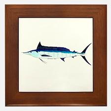 Shortbill Spearfish f Framed Tile