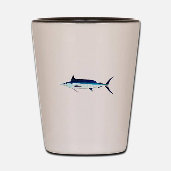 Shortbill Spearfish f Shot Glass
