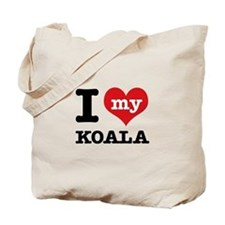 I heart Koala designs Tote Bag